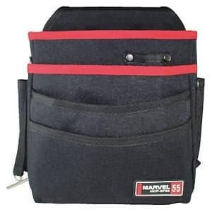腰袋 3段ポケットタイプ ラージタイプ ソフトフィットシリーズ