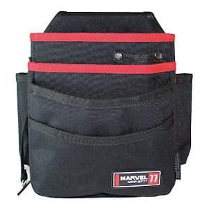 腰袋 3段ポケットタイプ 取り外しポーチ付 ソフトフィットシリーズ