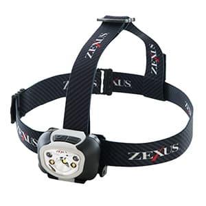 LEDヘッドライト 充電式アドバンスモデル 防噴流形IPX5相当 《ZEXUS Rシリーズ》