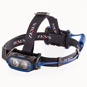 LEDヘッドライト モーション・センサーモデル 防噴流形IPX5相当 《ZEXUS》