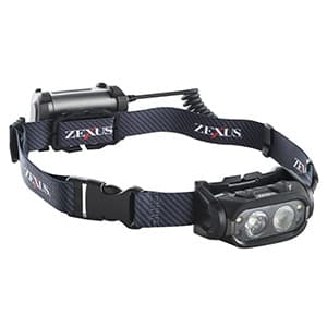 LEDヘッドライト ブースト搭載モデル 防噴流形IPX5相当 《ZEXUS Sシリーズ》