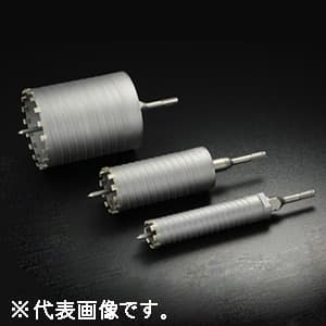 単機能コアドリル 《E&S》 乾式ダイヤ 回転専用 DCタイプ(ストレートシャンク) 口径105mm シャンク径10mm/13mm