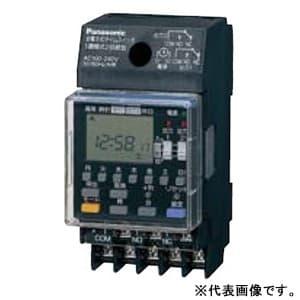 週間式タイムスイッチ JIS協約型・2P 電子式 パルス出力 1回路型