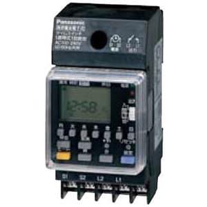 週間式タイムスイッチ JIS協約型・2P 電子式 高容量15A仕様 1回路型