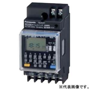 年間式タイムスイッチ JIS協約型・2P 電子式 2回路型