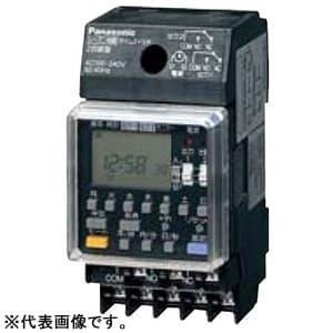 年間式タイムスイッチ JIS協約型・2P 電子式 1回路型 シーズン対応機能付