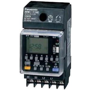 年間式タイムスイッチ JIS協約型・2P 電子式 高容量15A仕様 1回路型 シーズン対応機能付