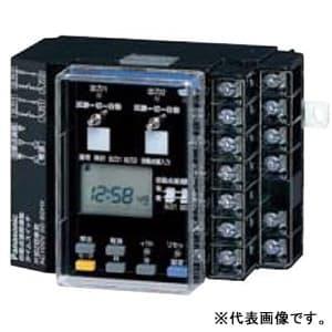 24時間式タイムスイッチ JIS協約型・3P 自動点滅器連動型 電子式 AC100-200V用 両切1回路