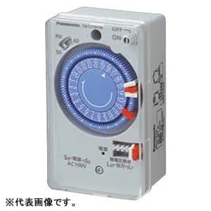 24時間式タイムスイッチ ボックス型 交流モータ式 AC100V用 同一回路