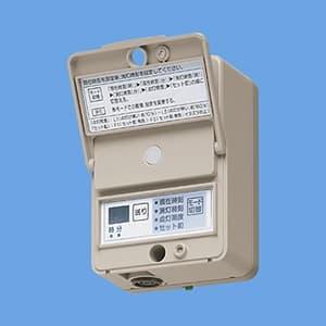 定刻消灯タイマ付EEスイッチ 看板スイッチ 露出・埋込両用 AC100V 15A