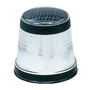 LEDソーラーライト マーカー型 高輝度LED×2灯 白色 光センサー付