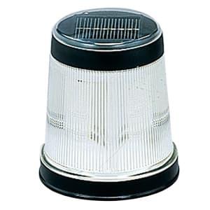 LEDソーラーライト マーカー型 高輝度LED×4灯 電球色 光センサー付