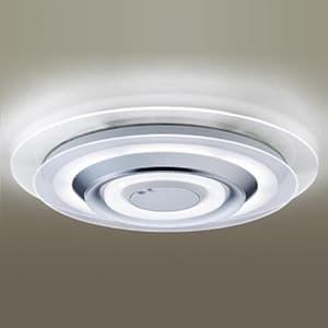 LEDシーリングライト 《AIR PANEL LED》 2枚パネルタイプ 〜12畳用 天井直付型 調光・調色タイプ 昼光色〜電球色 リモコン付 透明 4549077187024