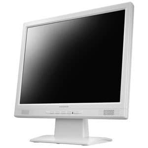 スクエア液晶ディスプレイ スタンダードモデル 15型 XGA(1024×768)対応 LEDパネル ホワイト