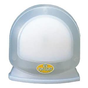 強力ポンライト スケルトンタイプ 電池式 クリプトンPR球2.5V/0.5A スタンド台付 ホワイト