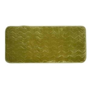 ぽかぽかルームマット 75×172cm 室温センサー付 グリーン