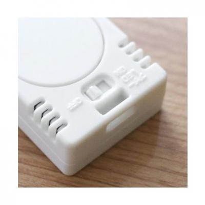 ポータブル温湿度計「ブラーム」 ホワイト 画像2