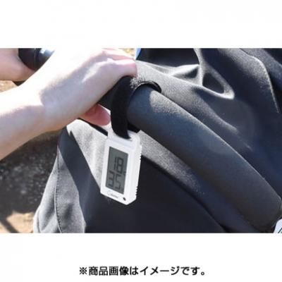 ポータブル温湿度計「ブラーム」 ホワイト 画像3