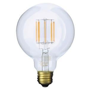 LED電球 《Siphon》 ボール95形 30W相当 全光束400lm 暖系電球色 E26口金 調光器対応