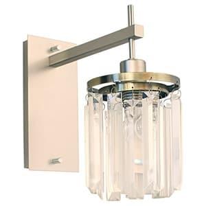 ブラケットライト 《Berretta》 白熱ミニ球60W 電球色 口金E17 壁付・ビス固定式