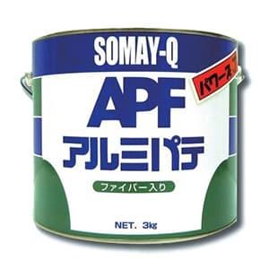 アルミパテ パワーズJ ファイバー入 耐熱温度150℃ 内容量3kg