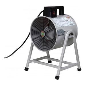 ポータブル送風機 単相100V 羽根径30cm 角度可変
