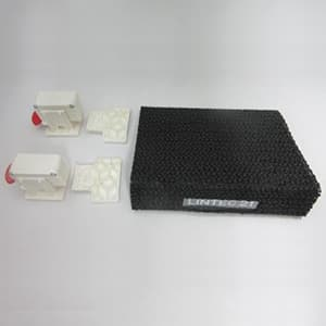 冷蔵庫ヤモリセット 両開き用 メカ式センサー感知 電源不要