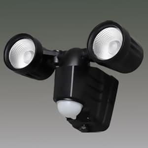 LED防犯センサーライト 屋内・屋外兼用 2灯・ベーシックタイプ IP44 電池式 昼白色