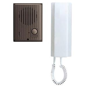 ワンタッチドアホンセット AC電源直結式 親機+玄関子機