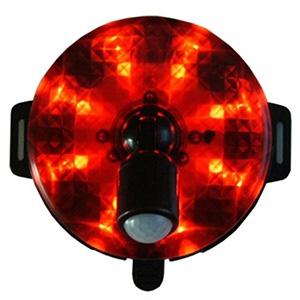 ピカマル人感送信機 電池式 防沫形 マグネット・マジックベルト付 《Xシリーズ》 画像2