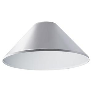 遮光笠(笠A) 《LEDioc AREA TOLICA-L》 上方光束比5% メタリックシルバー