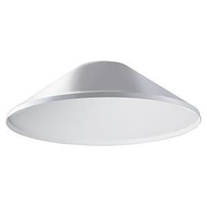 遮光笠(笠B) 《LEDioc AREA TOLICA-L》 上方光束比15% メタリックシルバー