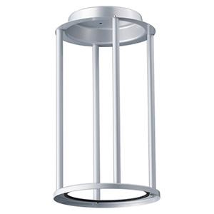 衣装柱(支柱) 《LEDioc AREA TOLICA-L》 メタリックシルバー