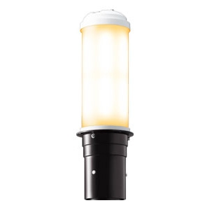LEDポールライト 《LEDioc AREA TOLICA-L》 水銀ランプ400W相当 防雨形 電球色 電源ユニット別置形 ダークブラウン