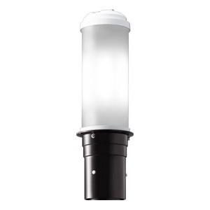 LEDポールライト 《LEDioc AREA TOLICA-L》 水銀ランプ200W相当 防雨形 昼白色 電源ユニット別置形 ダークブラウン