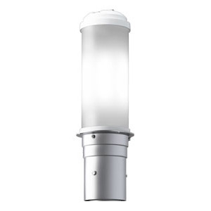 LEDポールライト 《LEDioc AREA TOLICA-L》 水銀ランプ200W相当 防雨形 昼白色 電源ユニット別置形 メタリックシルバー