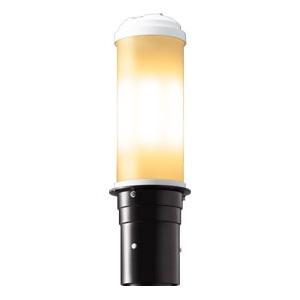 LEDポールライト 《LEDioc AREA TOLICA-L》 水銀ランプ200W相当 防雨形 電球色 電源ユニット別置形 ダークブラウン