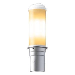 LEDポールライト 《LEDioc AREA TOLICA-L》 水銀ランプ200W相当 防雨形 電球色 電源ユニット別置形 メタリックシルバー