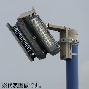 外灯用照明 3連式 防水型 ポールホルダータイプ 全光束15000lm 配光角36°