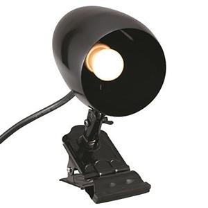 防雨型クリップライト ミニクリプトン球40W×1灯 口金E17