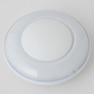 LEDミニプッシュライト 乾電池式 高輝度白色LED×1灯 ホワイト
