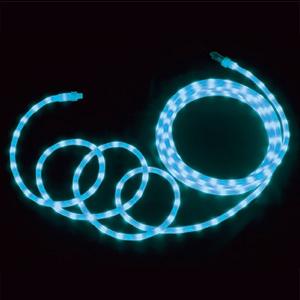 LEDソフトネオン 乳白ロッドタイプ 40mmピッチ 長さ4m 青