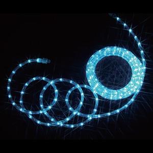 LEDソフトネオン スタンダードタイプ 40mmピッチ 長さ8m アクアブルー