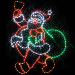 LEDジョイントモチーフ 全点滅タイプ サンタクロース