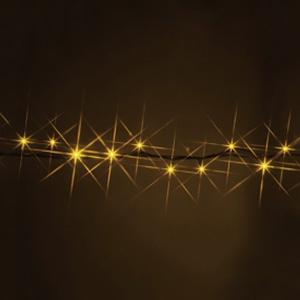 LEDストリング ハイグレードタイプ 屋外用 長さ2.5m 黄